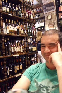Paul Kaan in Rome Sucking Back Filthy Good Vino
