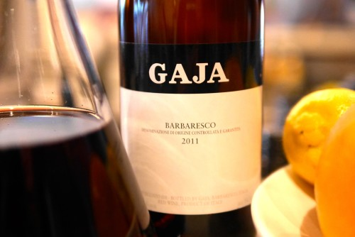 2011 Gaja Barbaresco Nebiolo by Paul Kaan