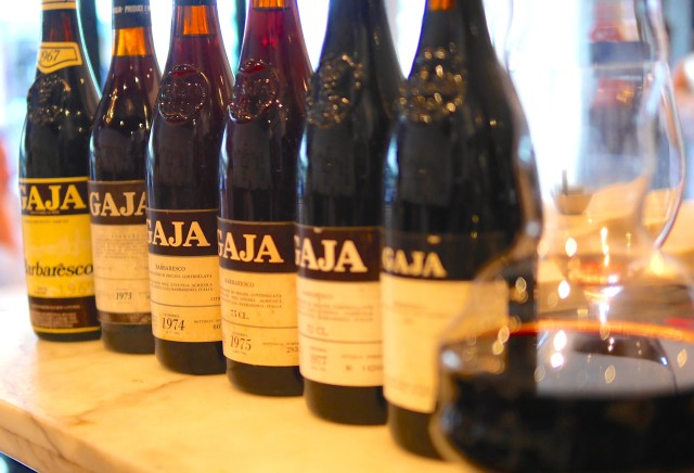 Gaja Barbaresco 1967 1973 1974 1975 1977 by Paul Kaan
