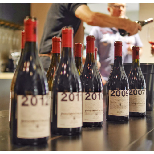 Vertical Tasting of Passopisciaro from 2007 to 2012 with Letizia by Paul Kaan