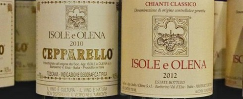 Isole e Olena Chianti Tasted 2015 by Paul Kaan